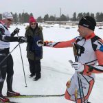 Herrtvåan Jonny Nilimaa och segraren Viktor Mäenpää
