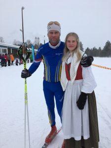 Mikael Niska och Alva Niska